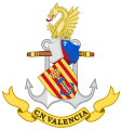 Naval Command of Valencia, Spanish Navy.png