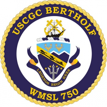 Coat of arms (crest) of the USCGC Bertholf (WMSL-750)