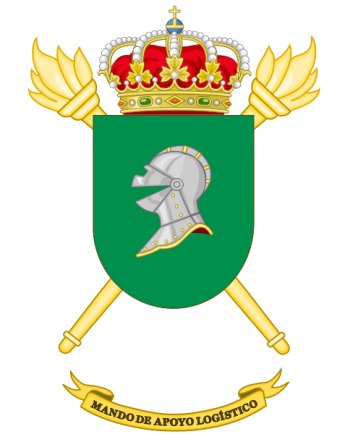 Coat of arms (crest) of the Logistic Support Command, Spanish Army