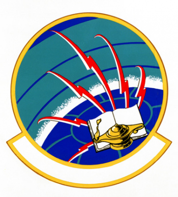 Coat of arms (crest) of the 1872nd School Squadron, US Air Force