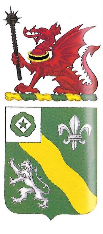 Coat of arms (crest) of the 63rd Armor Regiment, US Army