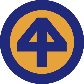 Arms of 44th Infantry Division Prepared in All Things Division, USA