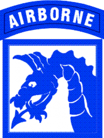 Arms of XVIII Airborne Corps, US Army