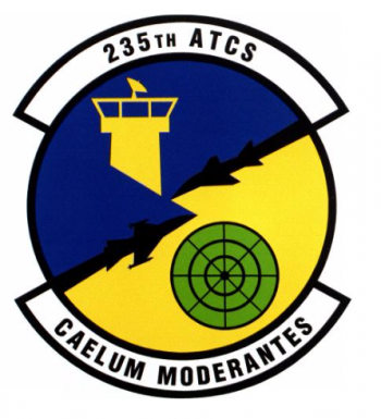 Coat of arms (crest) of the 235th Air Traffic Control Squadron, Indiana Air National Guard