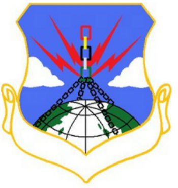 Coat of arms (crest) of the 4123th Strategic Wing, US Air Force