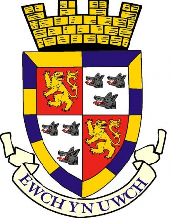 Arms (crest) of Radnorshire District Council