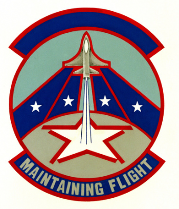 Coat of arms (crest) of the 155th Consolidated Aircraft Maintenance Squadron, Nebraska Air National Guard