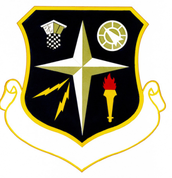 Coat of arms (crest) of the 3395th Technical Training Group, US Air Force