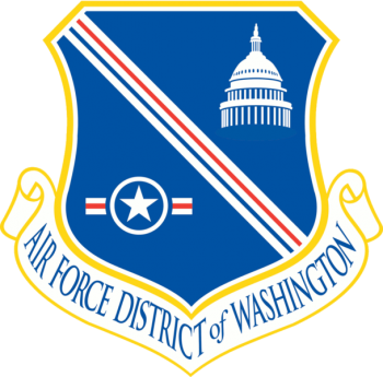 Coat of arms (crest) of the Air Force District of Washington, US Air Force