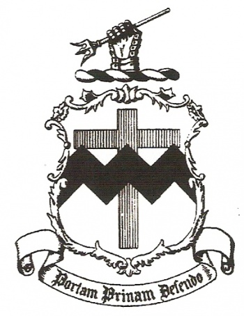 Coat of arms (crest) of the Coast Defenses of Chesapeake Bay, US Army