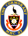 Mine Hunter USS Cormorant (MHC-57).png