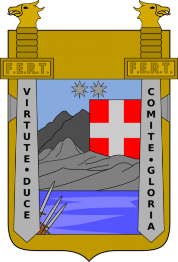 Coat of arms (crest) of the 24th Infantry Regiment Como, Italian Army