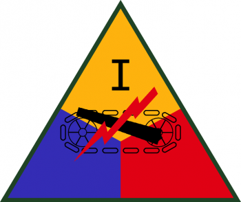 Coat of arms (crest) of the I Armored Corps, US Army