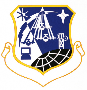 Coat of arms (crest) of the Airlift Information Systems Division, US Air Force