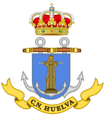 Coat of arms (crest) of the Naval Command of Huelva, Spanish Navy