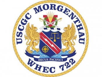 Coat of arms (crest) of the USCGC Morgenthau (WHEC-722)