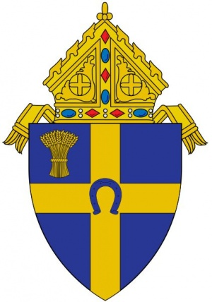 Arms (crest) of Diocese of Fargo