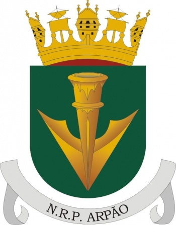 Coat of arms (crest) of the Submarine NRP Arpão, Portuguese Navy