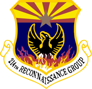 Coat of arms (crest) of the 214th Reconnaissance Group, Arizona Air National Guard