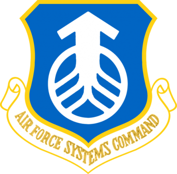 Coat of arms (crest) of the Air Force Systems Command, US Air Force