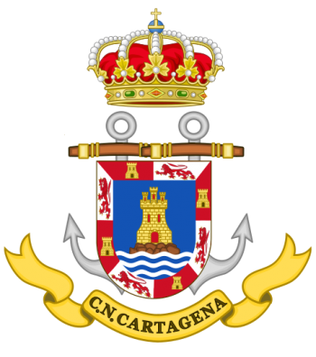 Coat of arms (crest) of the Naval Command of Cartagena, Spanish Navy