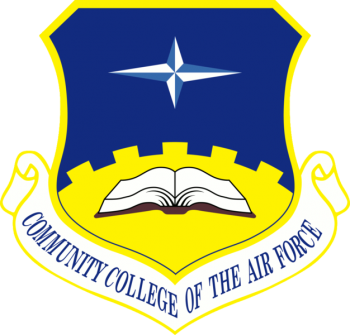 Coat of arms (crest) of the Community College of the Air Force, US Air Force