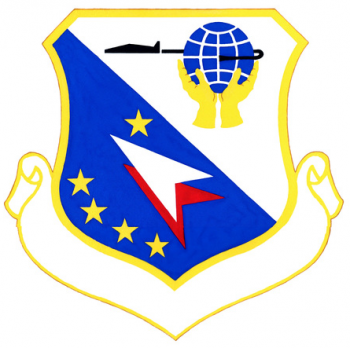 Coat of arms (crest) of the 14th Air Base Group, US Air Force