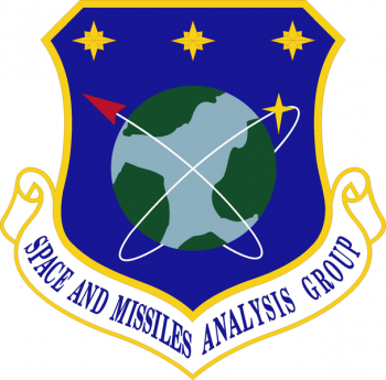 Coat of arms (crest) of the Space & Missile Systems Analysis Group, US Air Force