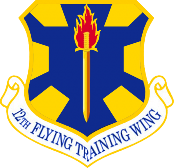 Coat of arms (crest) of the 12th Flying Training Wing, US Air Force