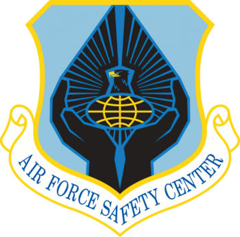Coat of arms (crest) of the Air Force Safety Center, US Air Force