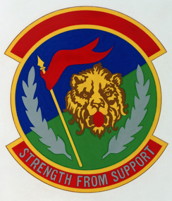 Coat of arms (crest) of the 110th Combat Support Squadron, Michigan Air National Guard