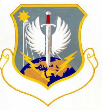 Coat of arms (crest) of the 9th Air Operations Group, US Air Force