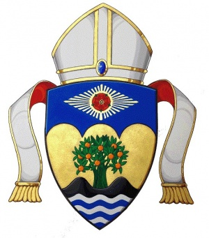 Arms (crest) of Diocese of Orange