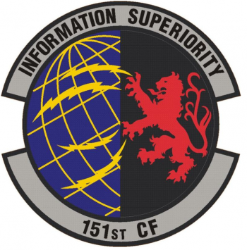 Coat of arms (crest) of the 151st Communications Flight, US Air Force
