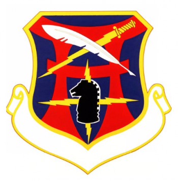 Coat of arms (crest) of the 6990th Electronic Security Group, US Air Force