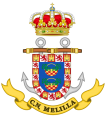 Naval Command of Melilla, Spanish Navy.png