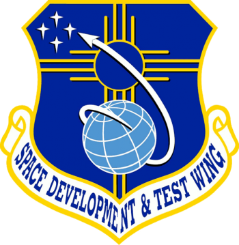 Coat of arms (crest) of the Space and Development Test Wing, US Air Force