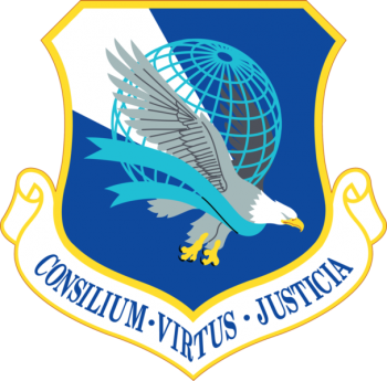 Coat of arms (crest) of the Air Force Legal Operations Agency, US Air Force