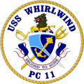 Coastal Patrol Ship USS Whirlwind (PC-11).png