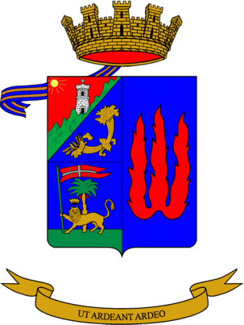 Coat of arms (crest) of the Non-Commissioned Officer School of the Italian Army