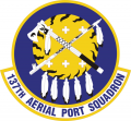 137th Aerial Port Squadron, US Air Force.png