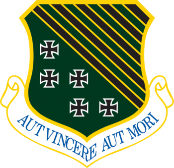 Arms of 1st Fighter Wing, US Air Force