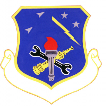 Coat of arms (crest) of the 3340th Technical Training Group, US Air Force