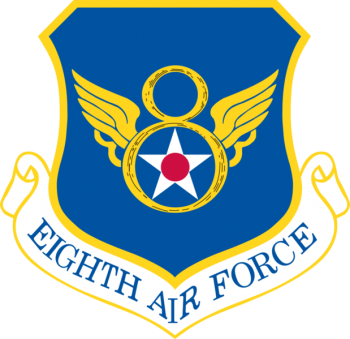 Coat of arms (crest) of the 8th Air Force, US Air Force