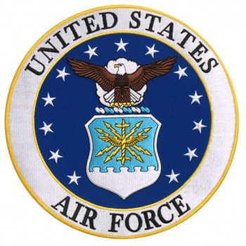 Coat of arms (crest) of the Air Force of the United States