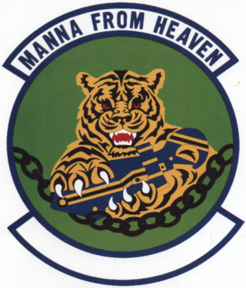 Coat of arms (crest) of the 35th Aerial Port Squadron, US Air Force