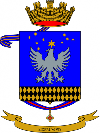 Coat of arms (crest) of the 7th Army Aviation Regiment Vega, Italian Army