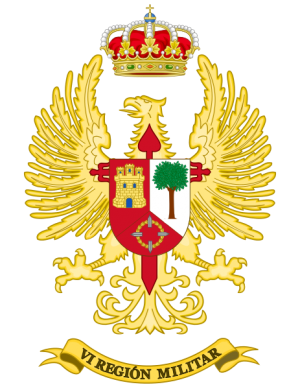 VI Military Region, Spanish Army.png