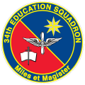 34th Education Squadron, US Air Force.png
