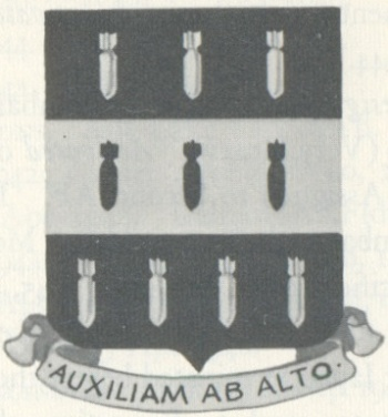 Coat of arms (crest) of the 334th Bombardment Group, USAAF